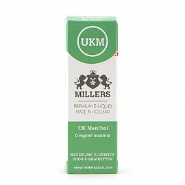 Millers Juice UK Menthol